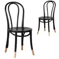 Replica Bentwood Chairs with Natural Socks (Set of 2)