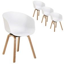 Solo Modern Armchairs (Set of 4)