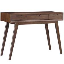Madsen Walnut Console Dressing Table