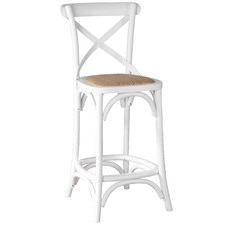 Bella 65cm Cross Back Bar Stool