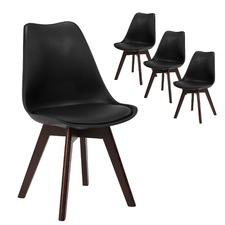 Walnut Nova Dining Chairs (Set of 4)