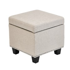 Mini Sheffield Storage Ottoman