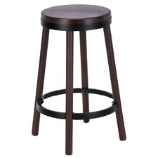Walnut Stain Brooklyn Barstool