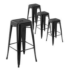76cm Tolix Replica Barstools (Set of 4)