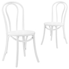 Thonet Replica No 18 Bentwood Dining Chairs (Set of 2)