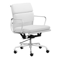 Eames Premium Leather Replica Soft Pad Management Office Chair