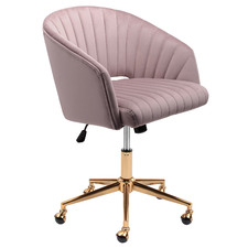 Gatsby Velvet Office Chair