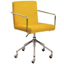 Sunshine Camden Velvet Office Chair