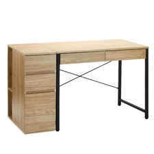 Beesly Office Desk with Filing Cabinet