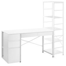 3 Piece Beesley Office Desk & Storage Set