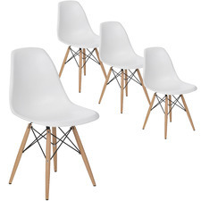 Eames Replica DSW Side Chairs (Set of 4)