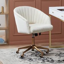 Gatsby Velvet Office Chair
