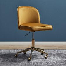 Juliet Velvet Office Chair