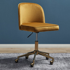 Juliet Velvet Home Office Chair