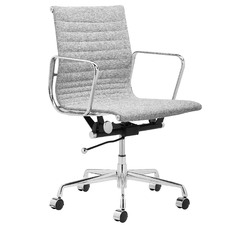 Grey Eames Replica Management Fabric Office Chair
