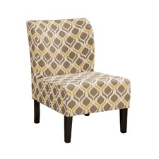 Nohlay Diamond Accent Chair