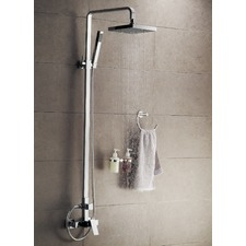Vibe Shower Set Combined With Shower Mixer