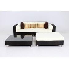 4 Piece Bronte Outdoor Modular Sofa Set