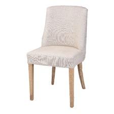 Modern Classic Linen Dining Chair (Set of 2)