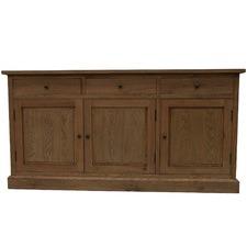 Blake 3 Drawer Oak Sideboard