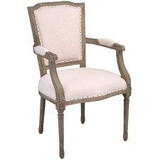 Renesmae Linen Dining Chair