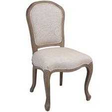 Natural Este Linen Dining Chair