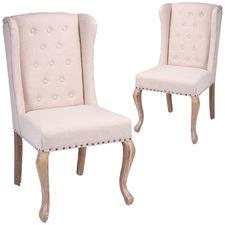 Annabel Wingback Dining Chair (Set of 2)