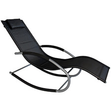 Morris Teslin Outdoor Rocking Lounge Chair