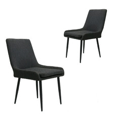 Dark Grey Sophie Outdoor Dining Chairs (Set of 2)