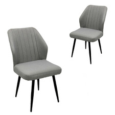 Dark Grey Xylo Outdoor Dining Chairs (Set of 2)