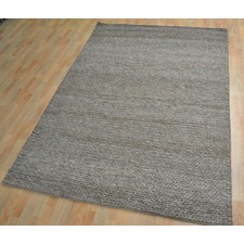 Plaited Wool-Blend Erol Rug
