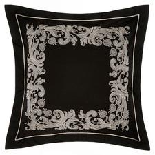 Black & Blush Palazzo Euro Pillowcase