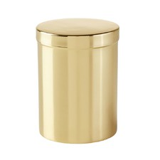 Brass Bathroom Canister