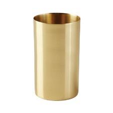 Brass Bathroom Tumbler