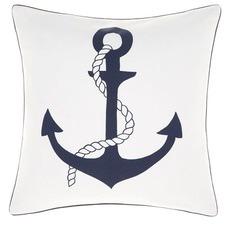 Navy Ancora Cushion