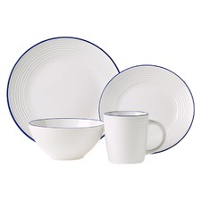 16 Piece White Devon Dinner Set