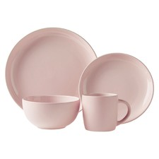 16 Piece Pink Malo Dinner Set
