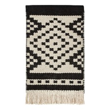 Peyote Black & White Wall Hanging