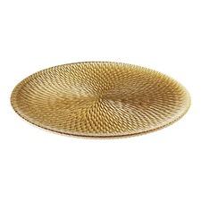 Bon Bon Gold Rim Plate