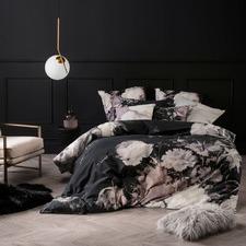 Black Marselha Quilt Cover Set