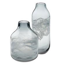 Ash Glass Vase