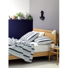 Murray Blue Flannelette Sheet Set