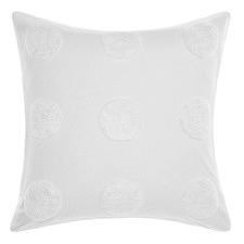 White Haze Cotton Euro Pillowcase