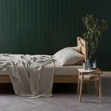 Natural Nimes Linen Sheet Set