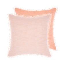 Tropical Peach Albers Cotton Cushion