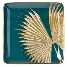 Chimera Palm Square Porcelain Plate