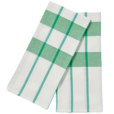 Set of 2 Green Smith Teatowels