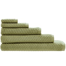 Olive Jordan Spot Bathroom Towels