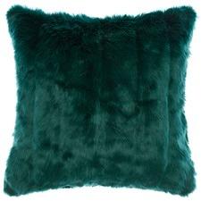 Channel Faux Fur Cushion