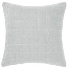 Leonard Cotton Grid Cushion